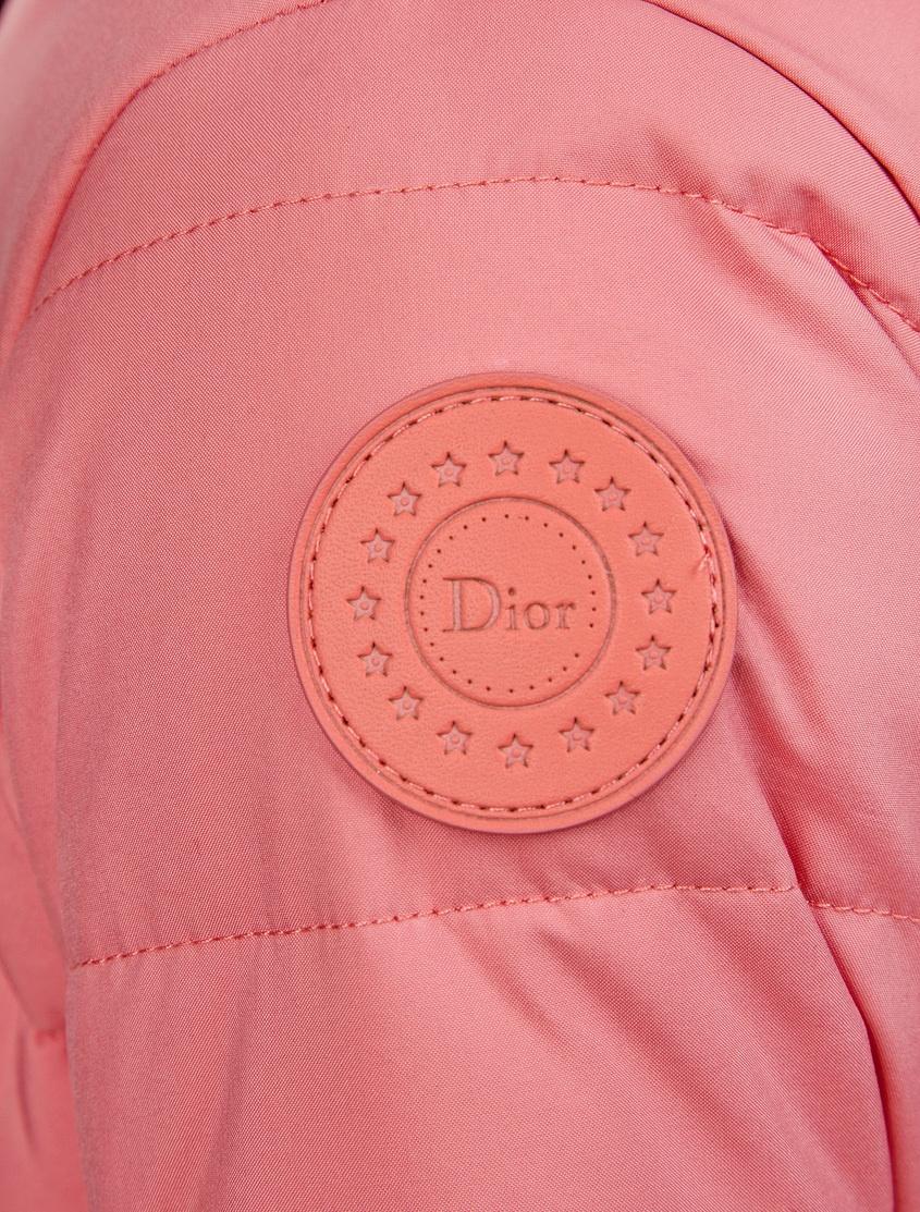 Dior Children Комбинезон с мехом dior homme шарф