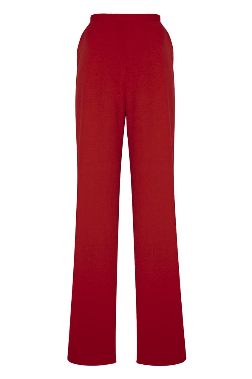 G.F. Ferre Vintage Красные шерстяные брюки (1990-е) подвески бижутерные ferre milano подвеска