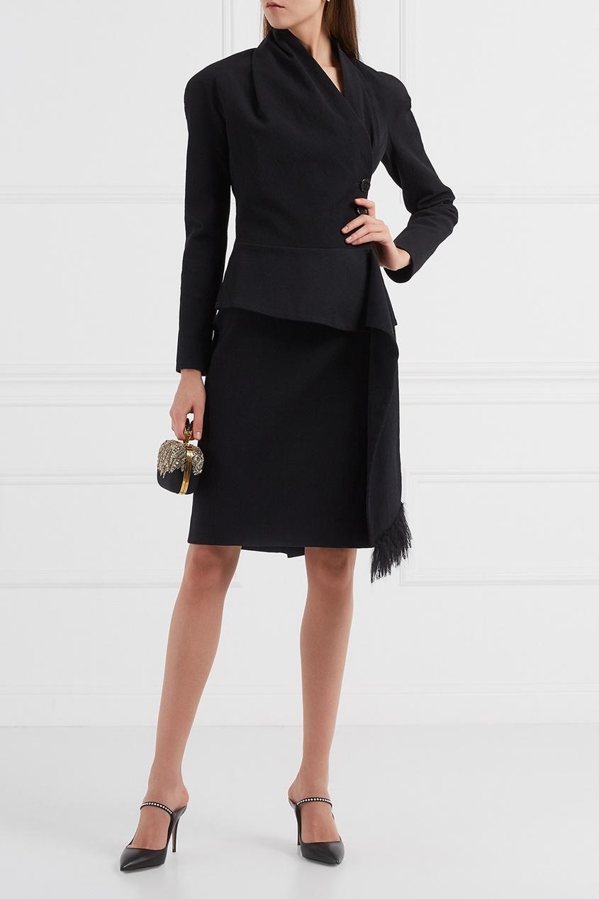 Christian Dior Vintage Винтажный костюм с юбкой christian dior vintage сумка 90 е