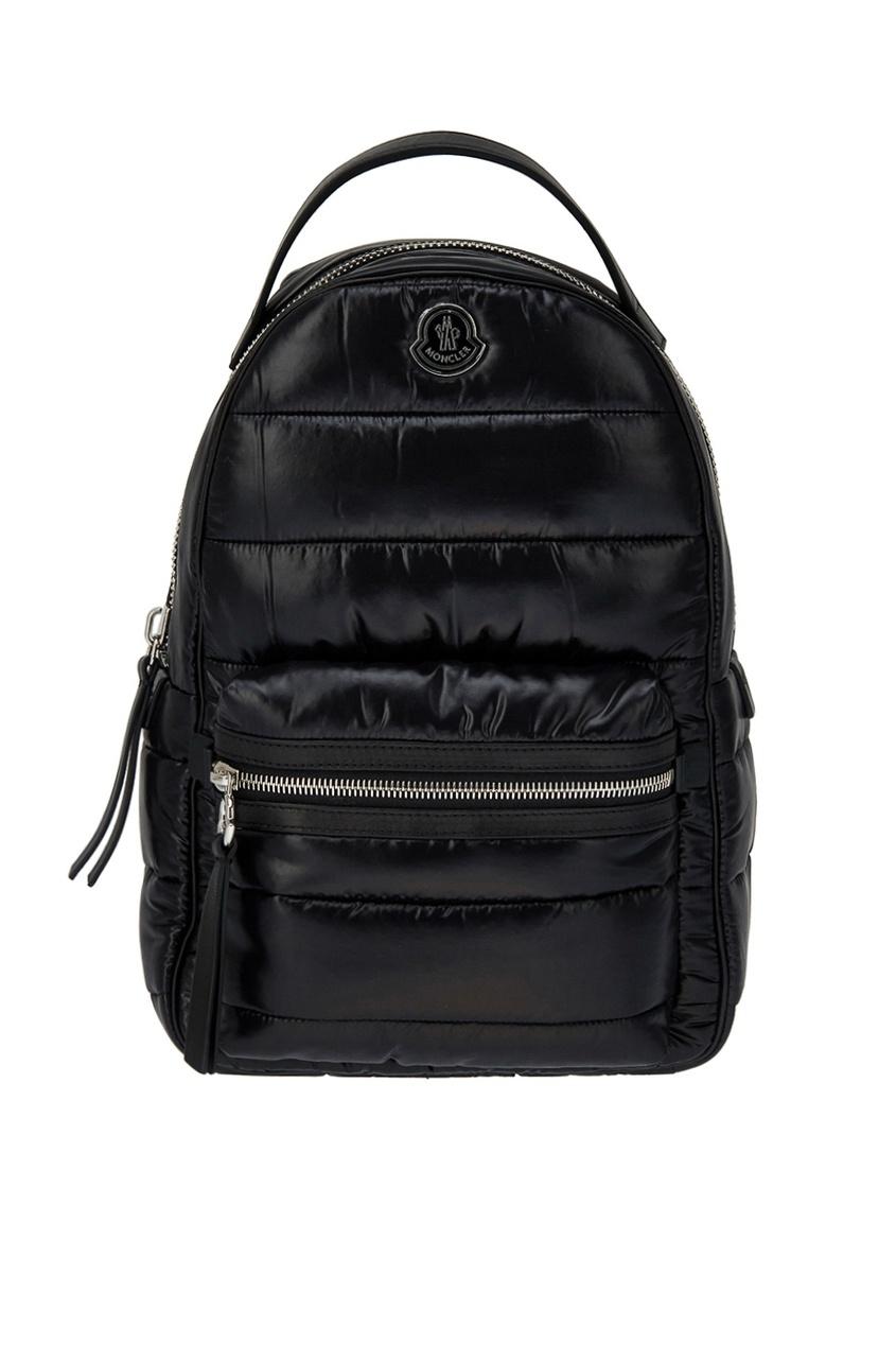 Стеганый рюкзак черный New Georgette
