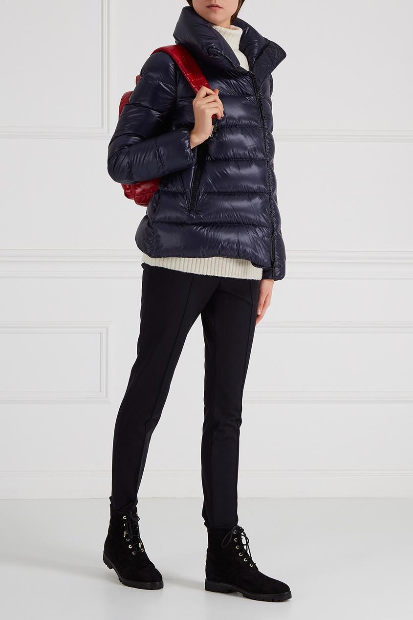 Moncler Стеганый рюкзак красный New Georgette moncler 365311