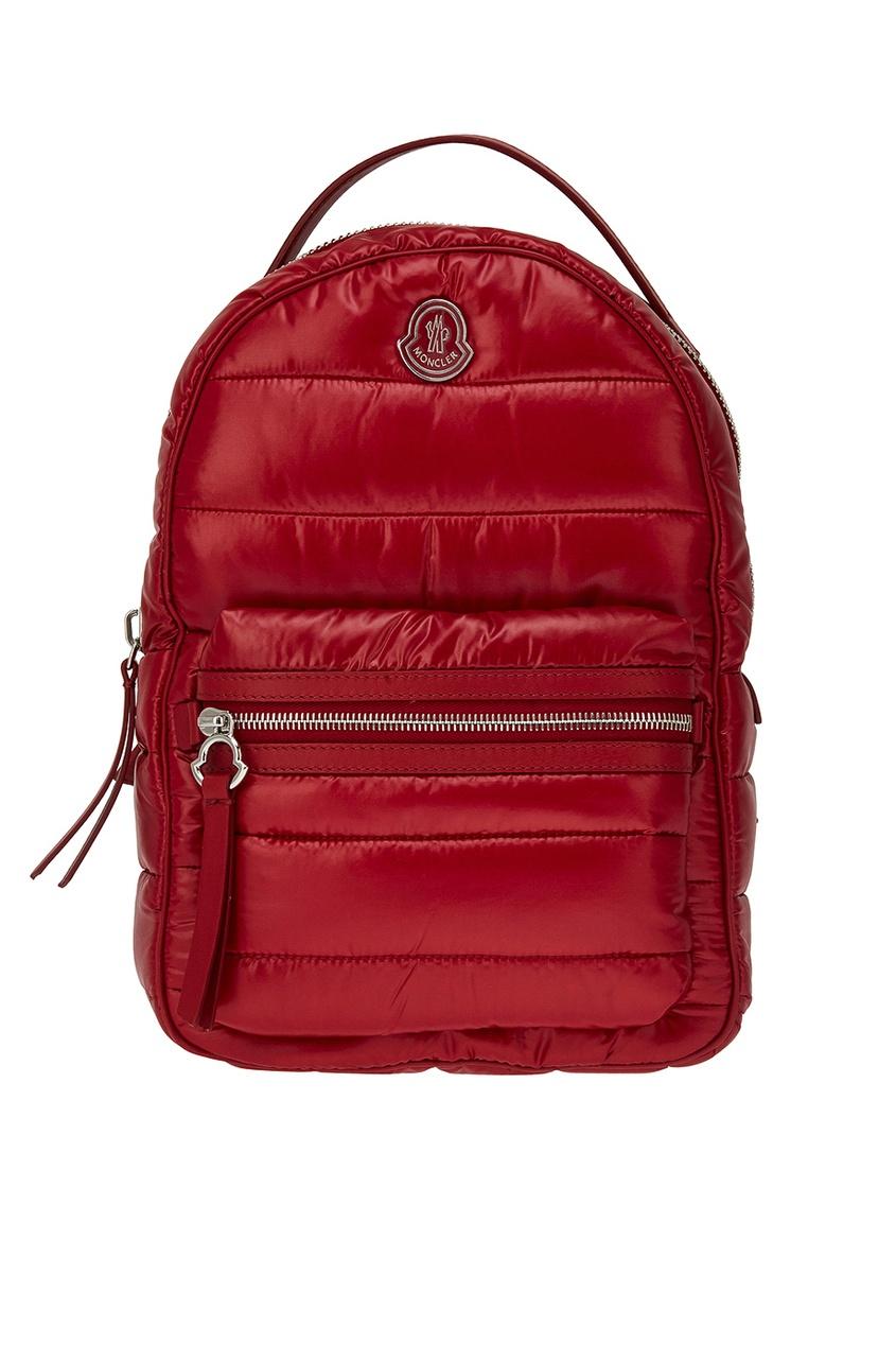 Стеганый рюкзак красный New Georgette