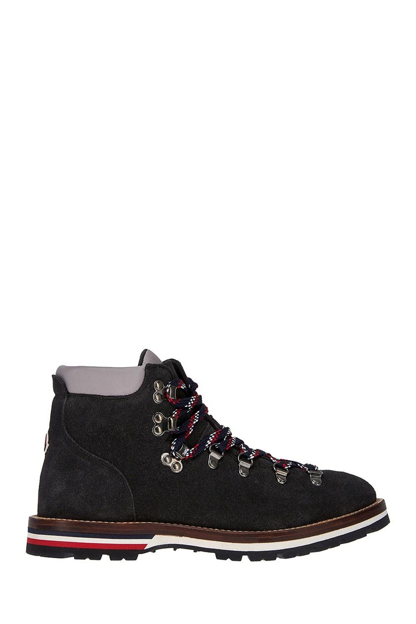 Moncler Кожаные ботинки Blanche ботинки кожаные с кисточками