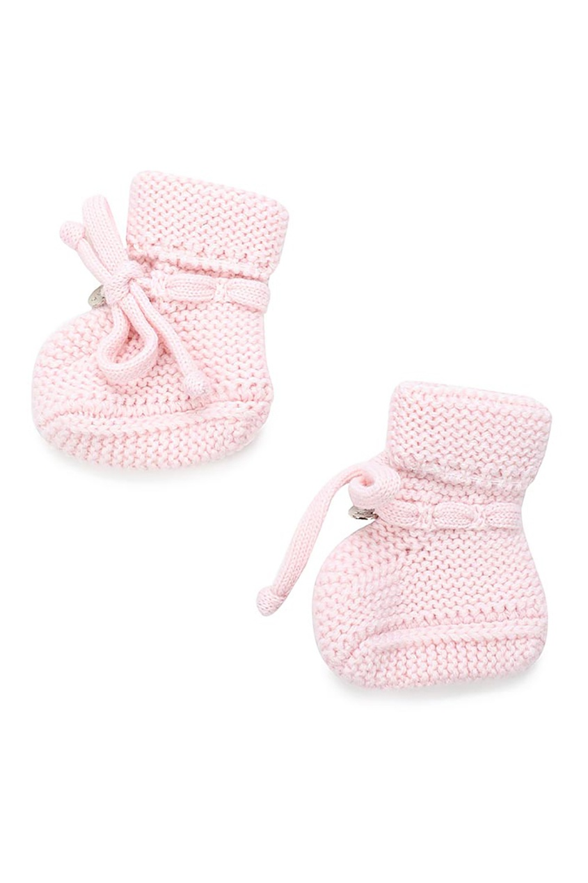 Miacompany Вязаные пинетки розовые ботинки baldinini ботинки