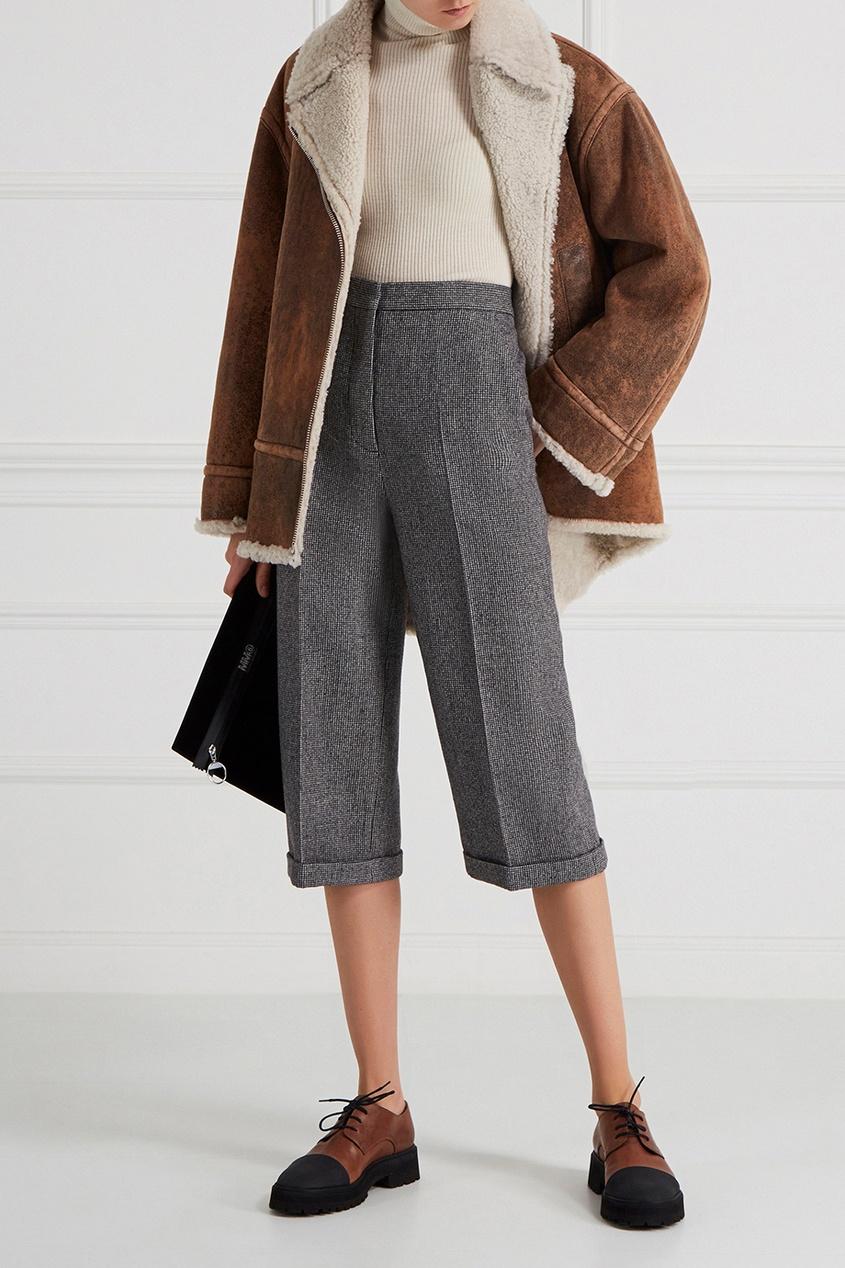 женские брюки rochas, серые