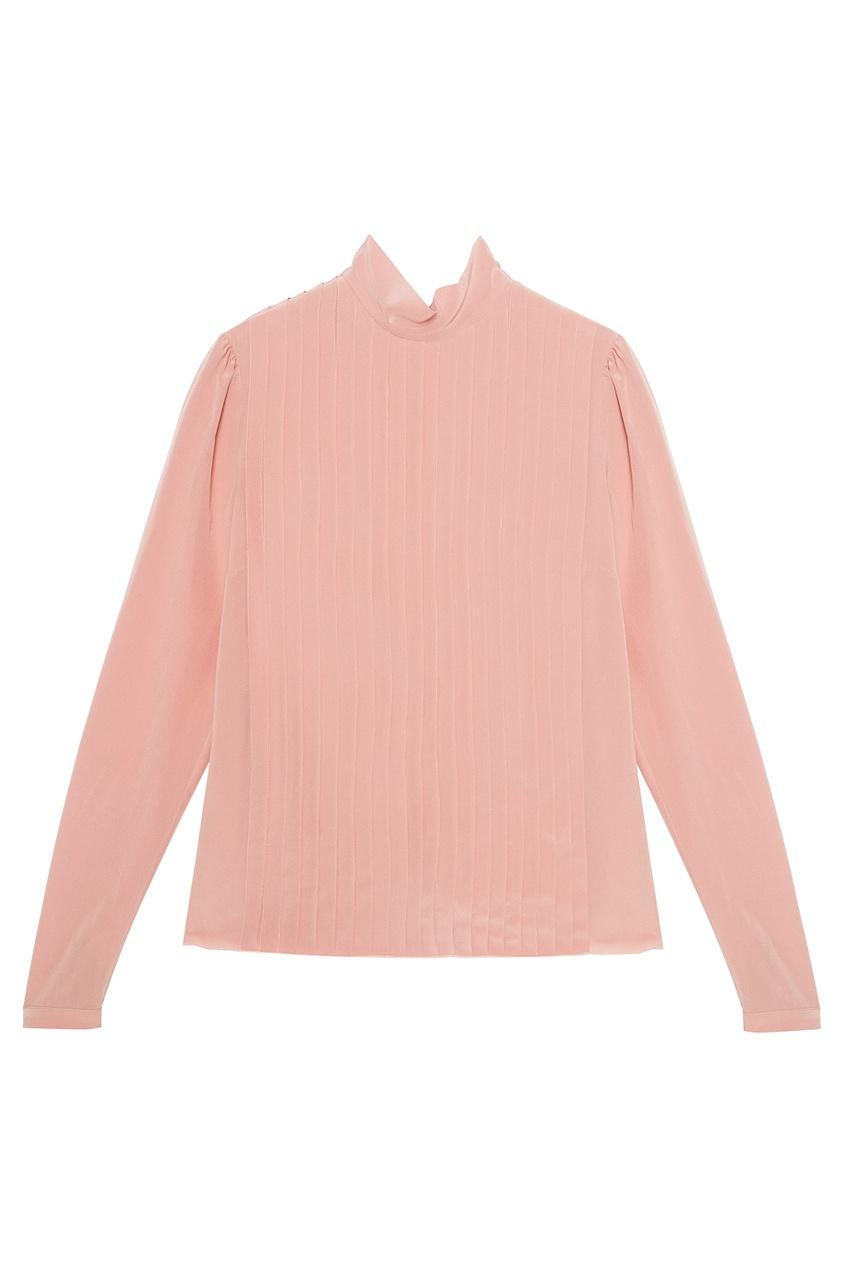 Rochas Шелковая блузка с плиссированной отделкой часы rochas