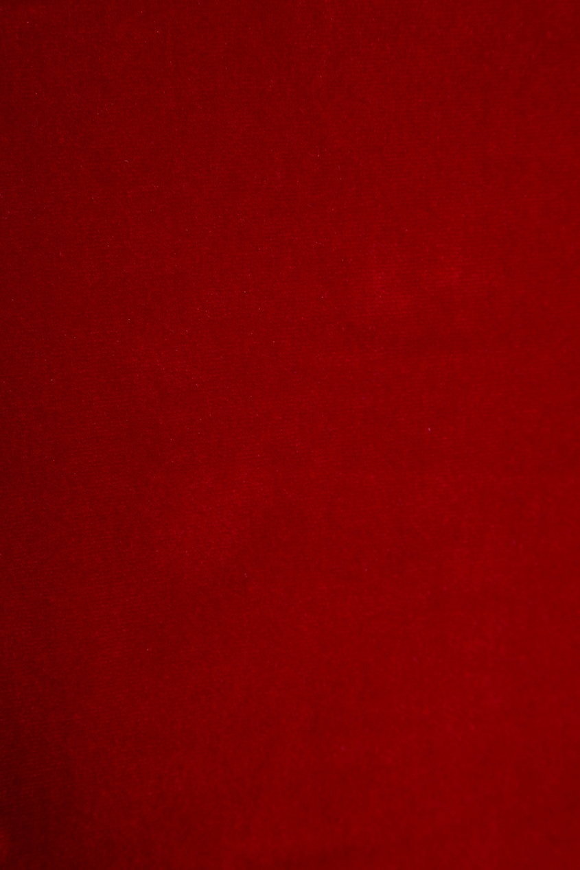 топ forte couture forte couture fo016ewprp62 Forte Couture Бархатное боди красное