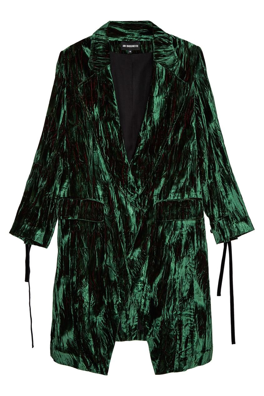 Пальто из панбархата