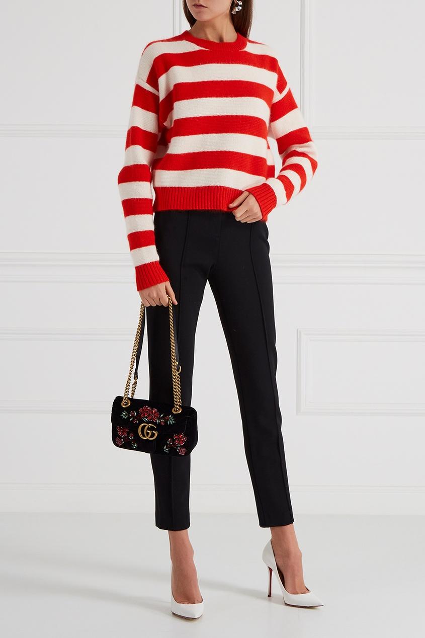 Gucci Декорированная сумка GG Marmont