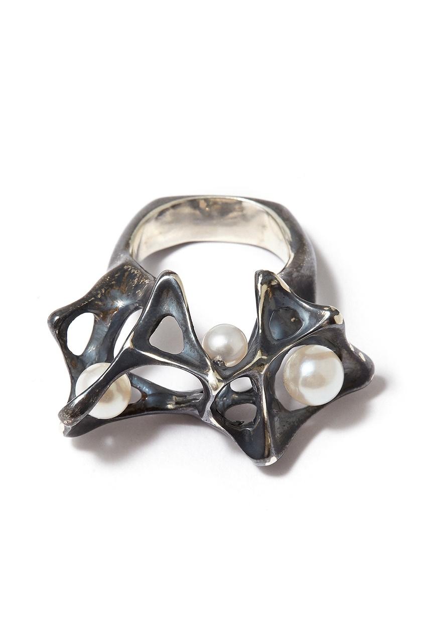 Fjord Серебряное кольцо с жемчужинами