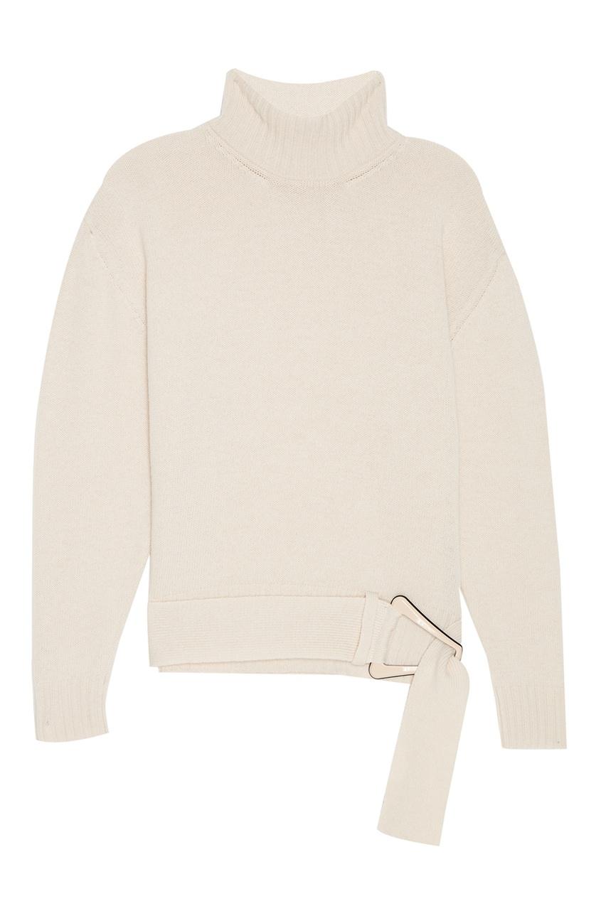 Бежевый свитер из шерсти