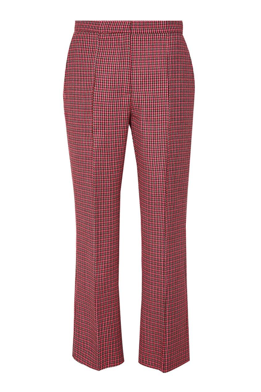 MSGM Розовые брюки в клетку msgm одежда
