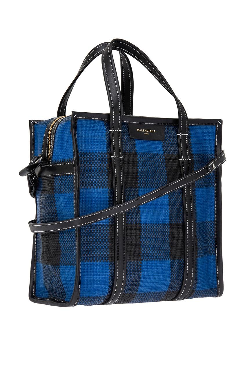 Кожаная сумка-баул Bazar Shopper S