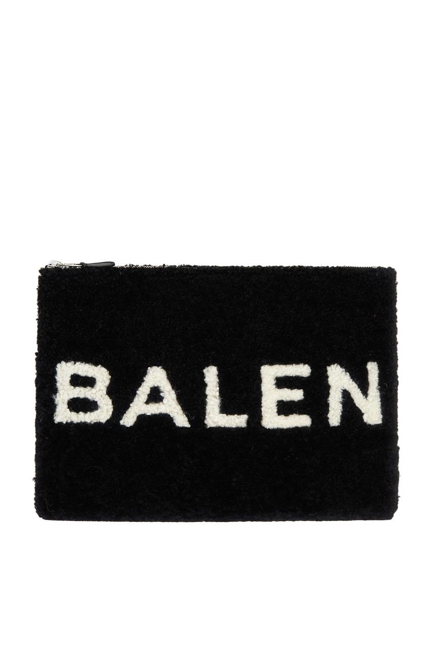 Balenciaga Сумка из овчины черная