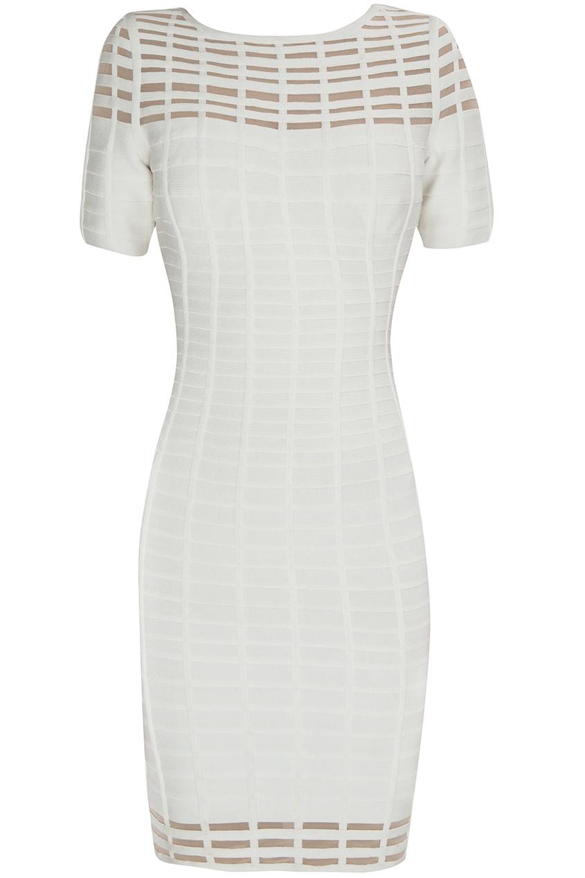 Облегающее платье из вискозы и нейлона Gisele