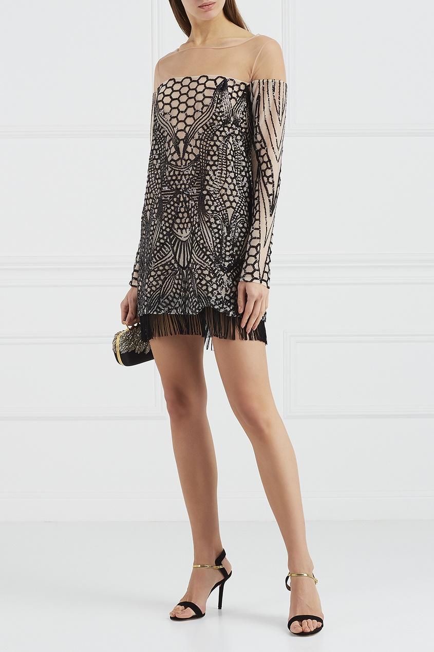 цены на Esve Платье-мини с пайетками в интернет-магазинах