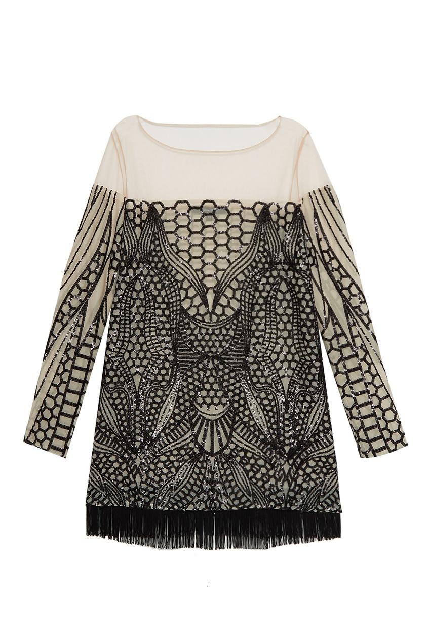 Esve Платье-мини с пайетками esve платье с пайетками