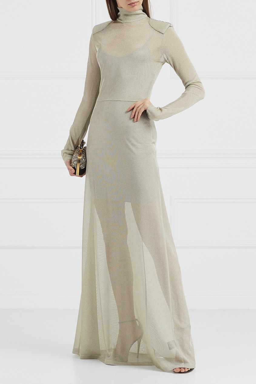 Esve Трикотажное платье-макси