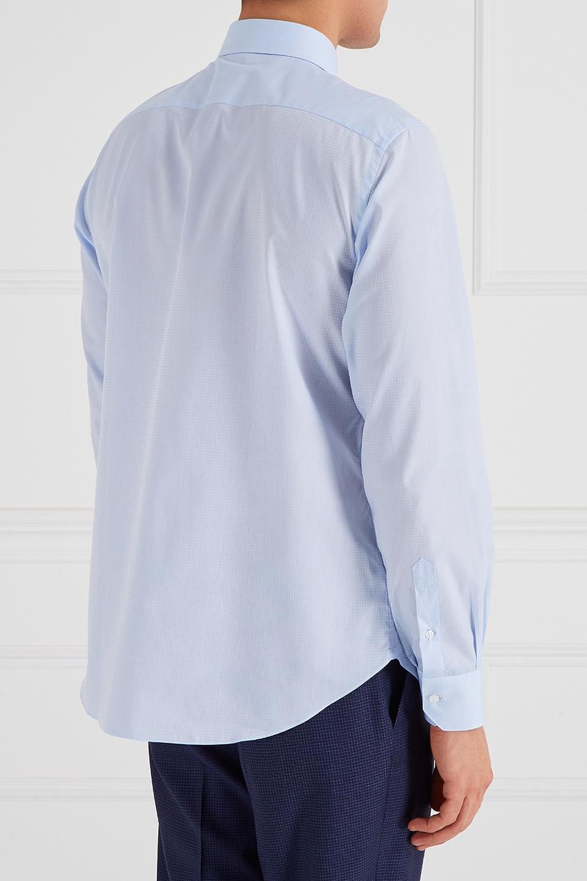 рубашка brioni цвет белый BRIONI Хлопковая рубашка