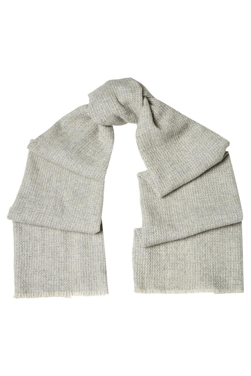 CESARE ATTOLINI Кашемировый шарф бежевый цена 2017