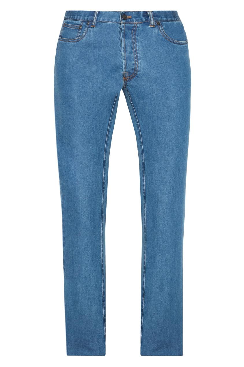 BRIONI Зауженные джинсы brioni спортивный костюм от brioni 72536
