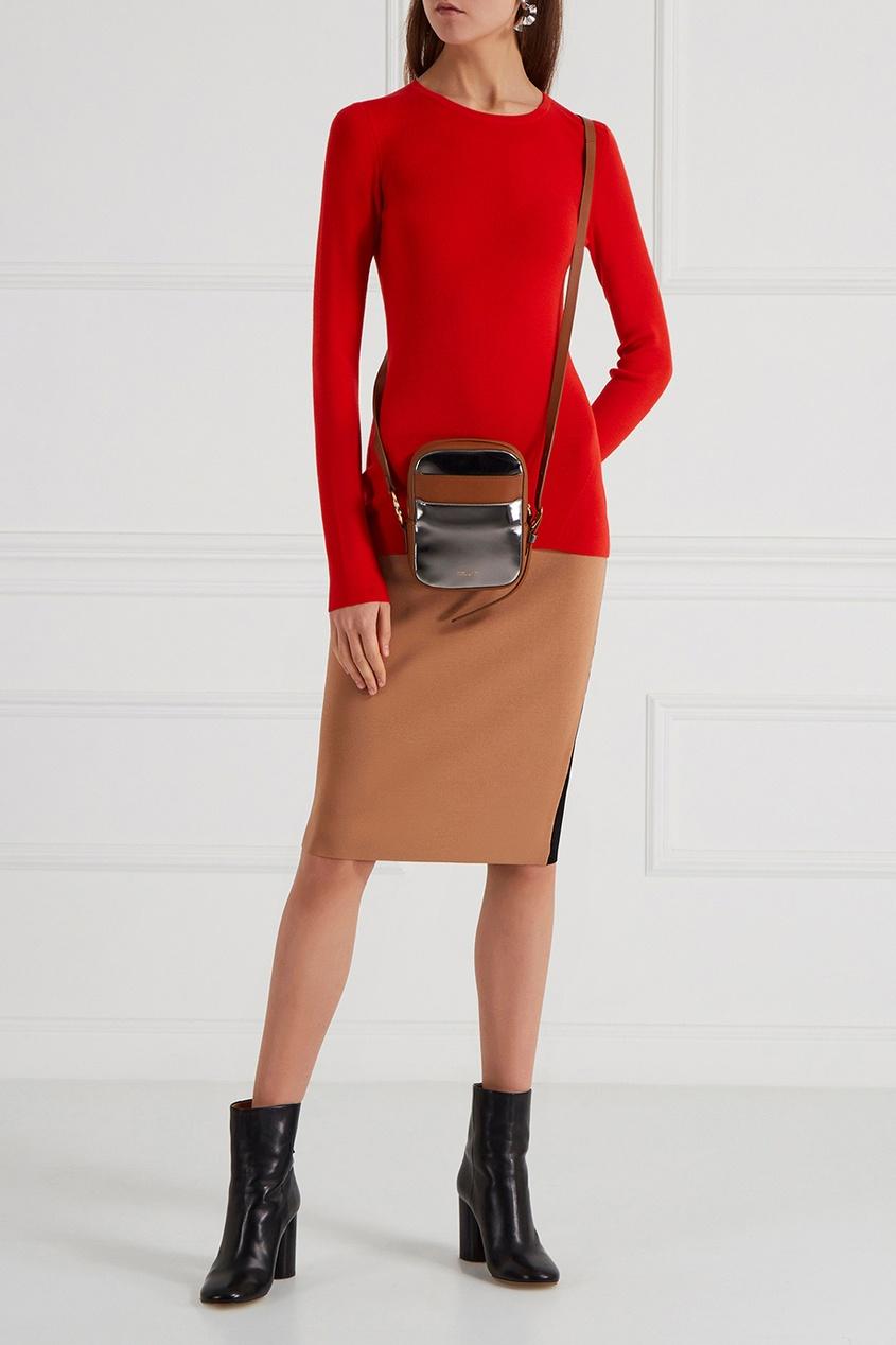 Diane von Furstenberg Красный шерстяной джемпер
