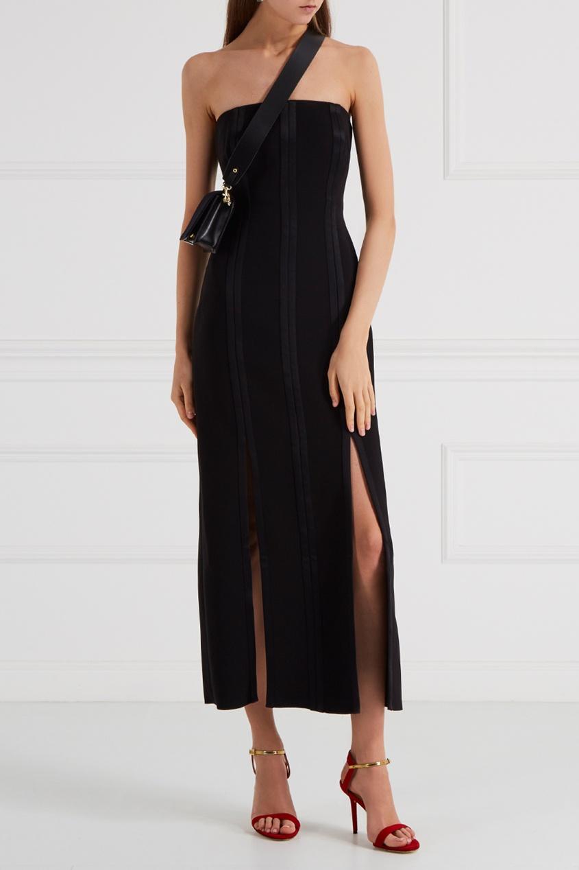Открытое платье-футляр