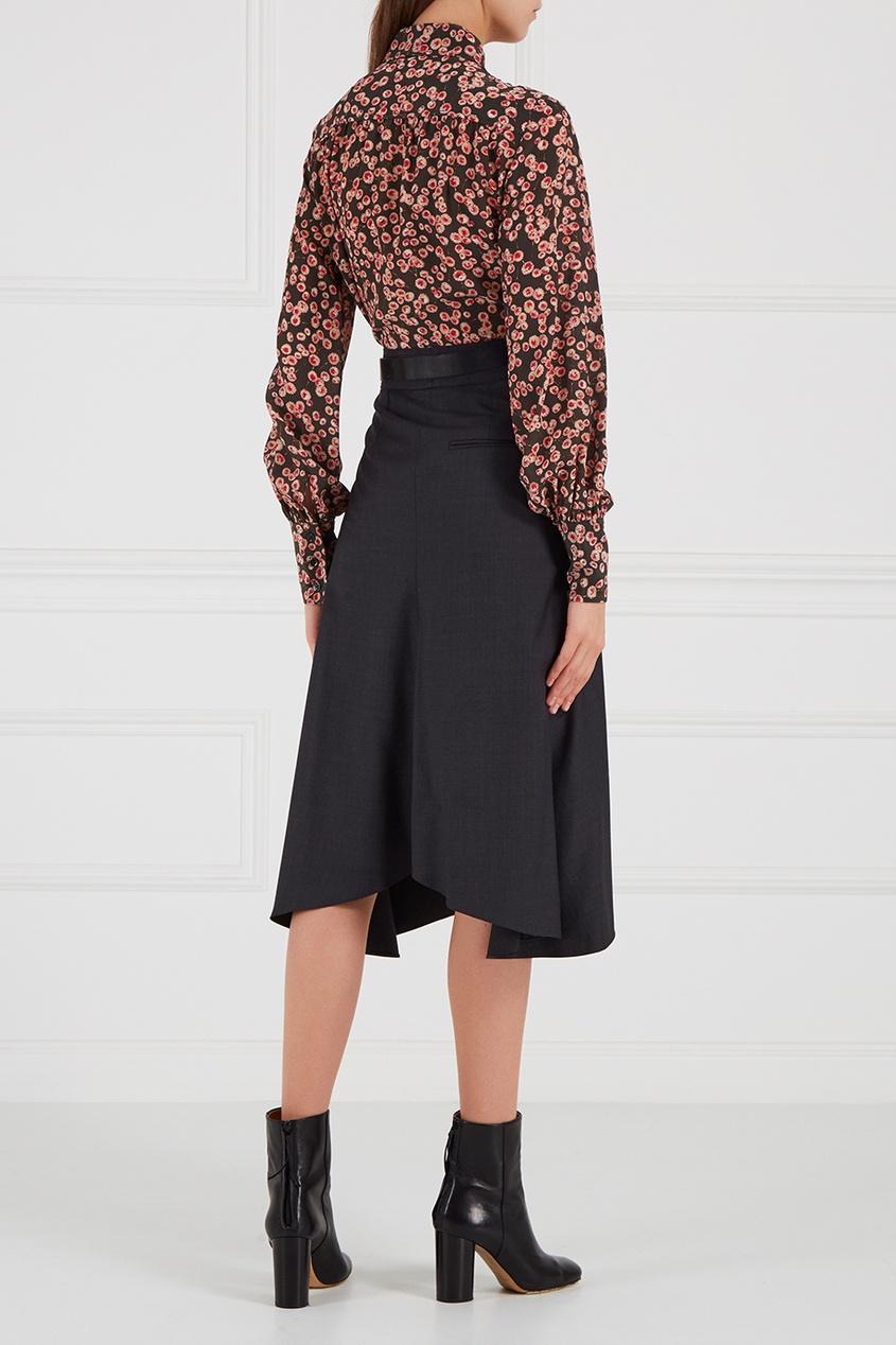 Шелковая блузка Salina