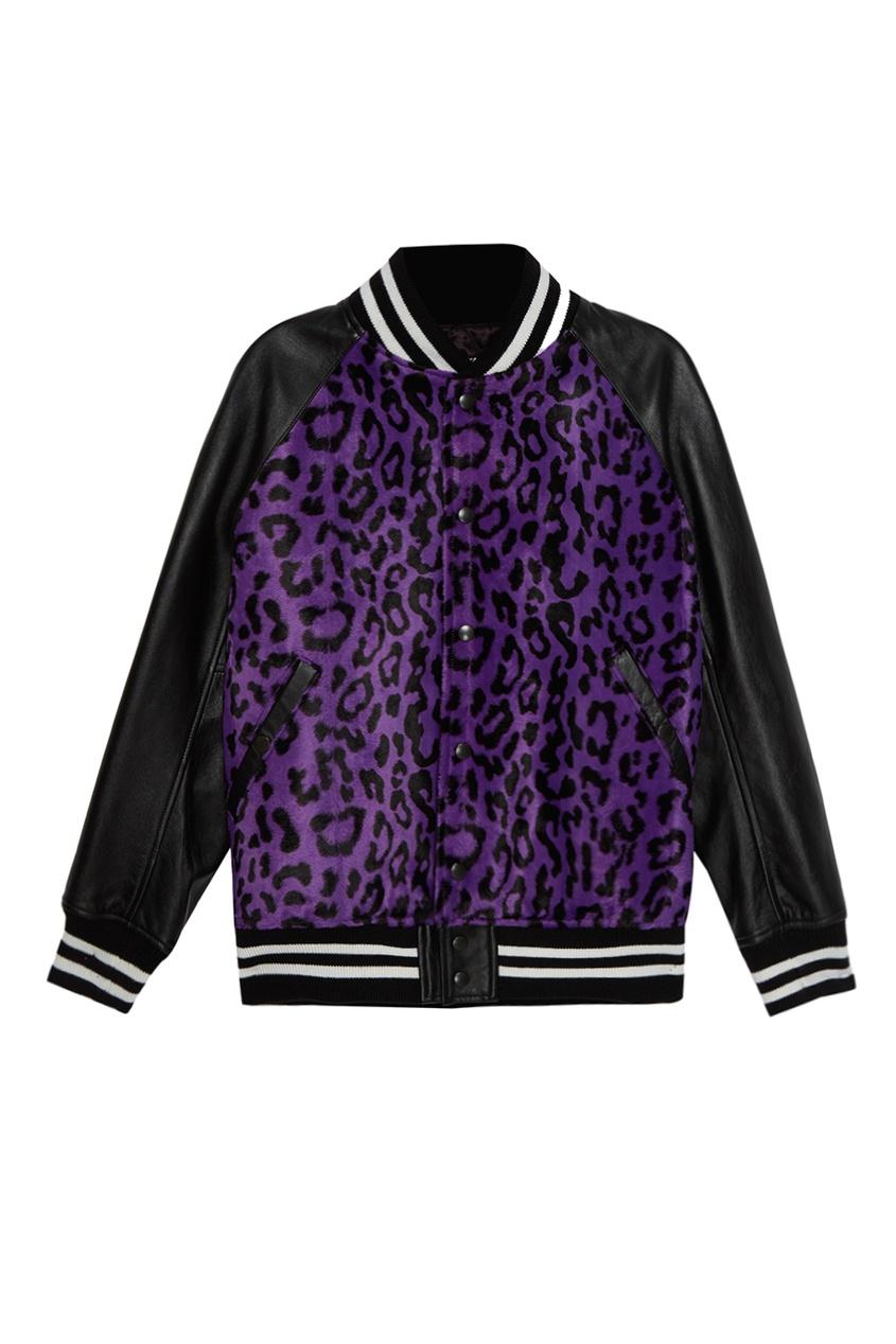 Junya Watanabe Бомбер с леопардовым принтом бомбер printio мода 2017