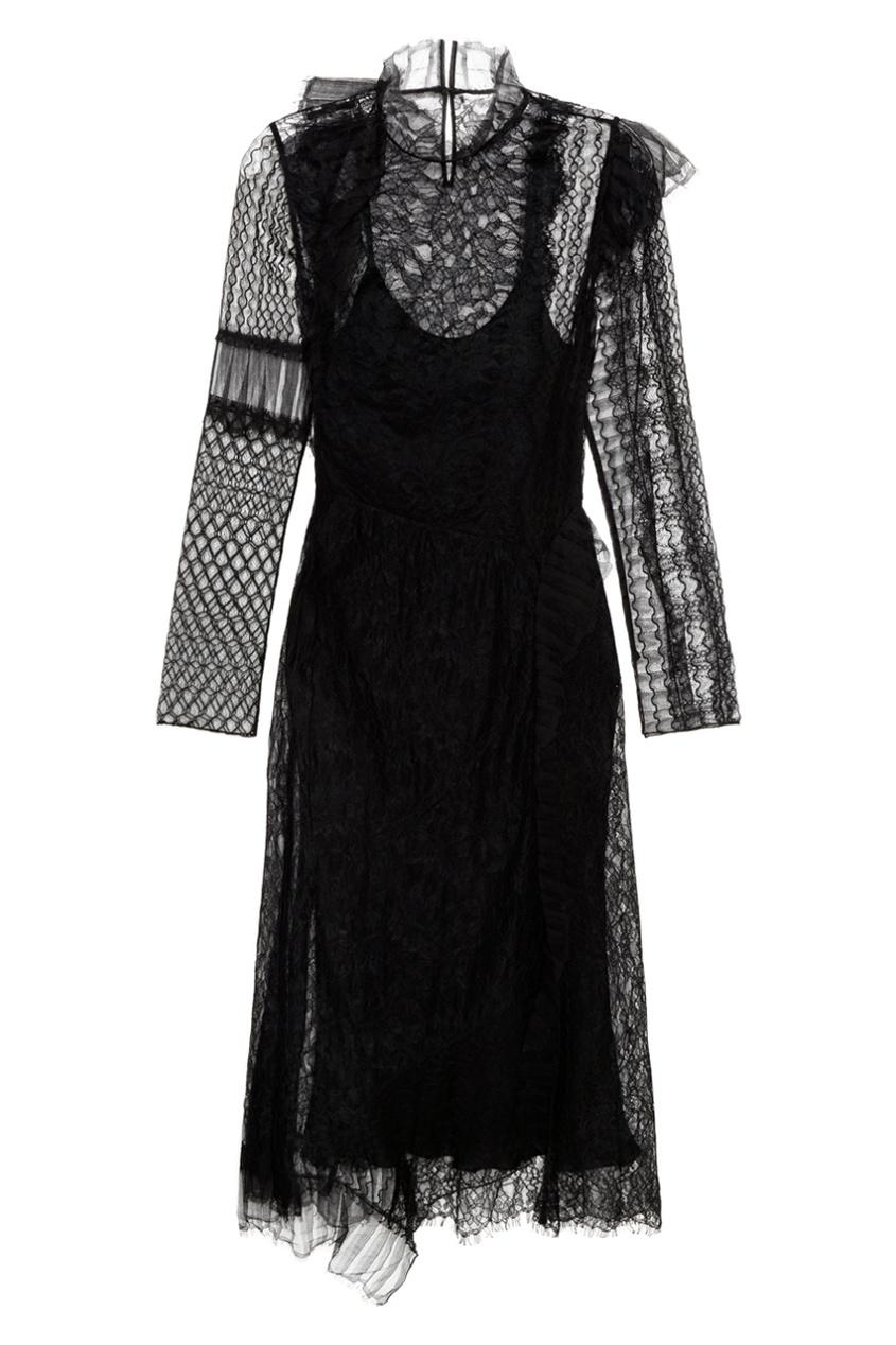 Двойное платье из кружева