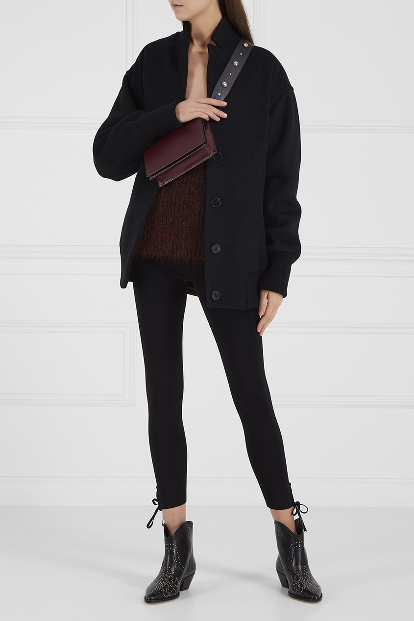 Трикотажные брюки-скинии