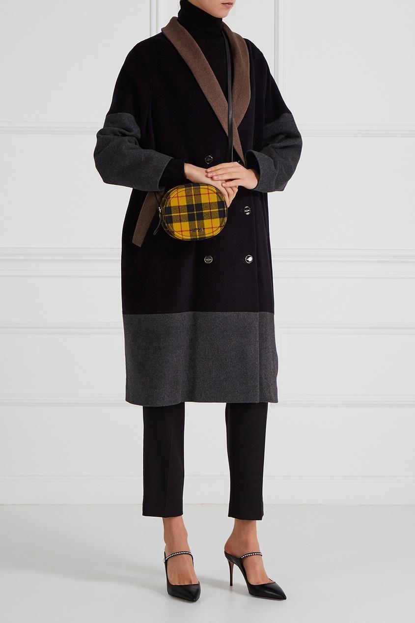 Victoria Andreyanova Шерстяное пальто color block