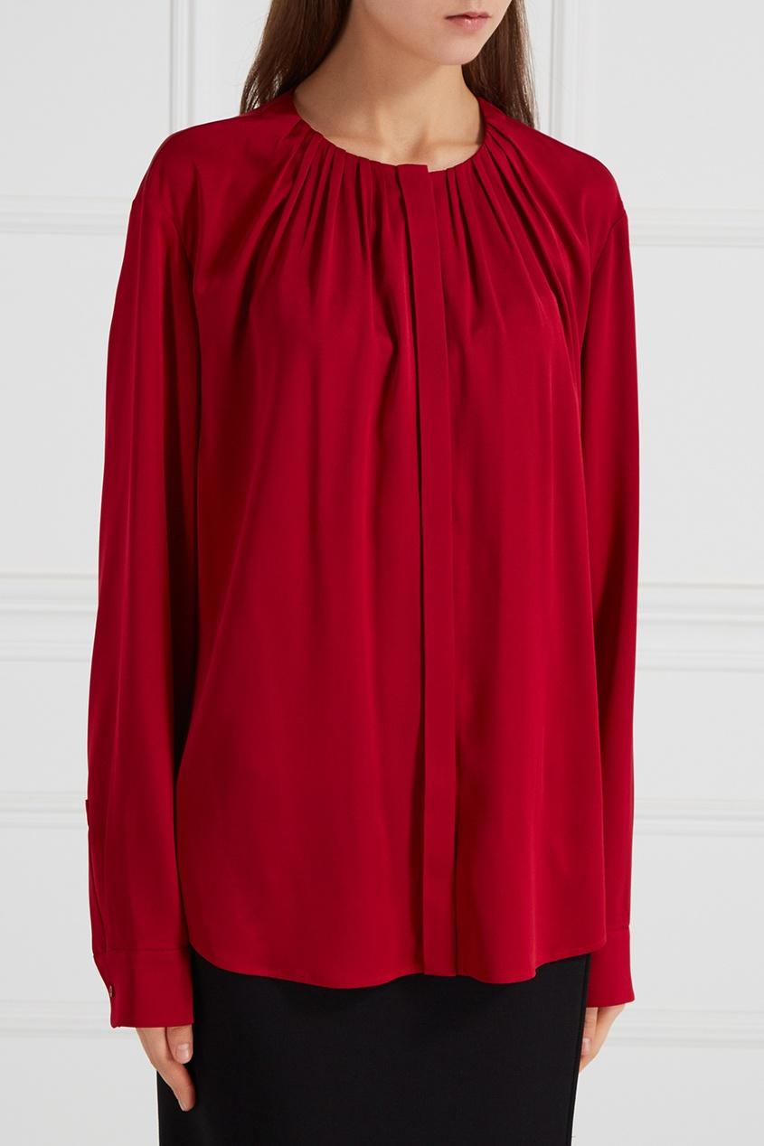 Блузка с драпировками