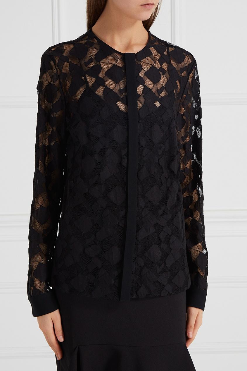 Сетчатая блузка