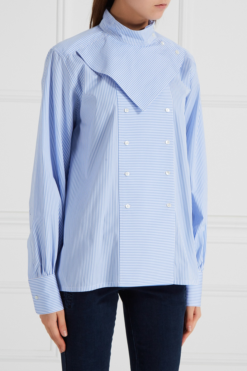 Асимметричная рубашка