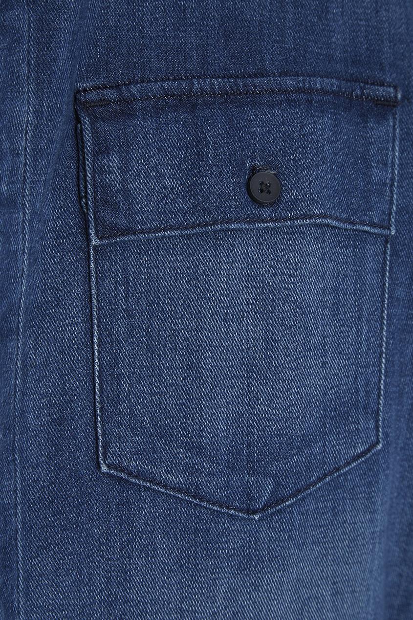 3х1 Джинсовый комбинезон юбка gloss юбки с завышенной талией