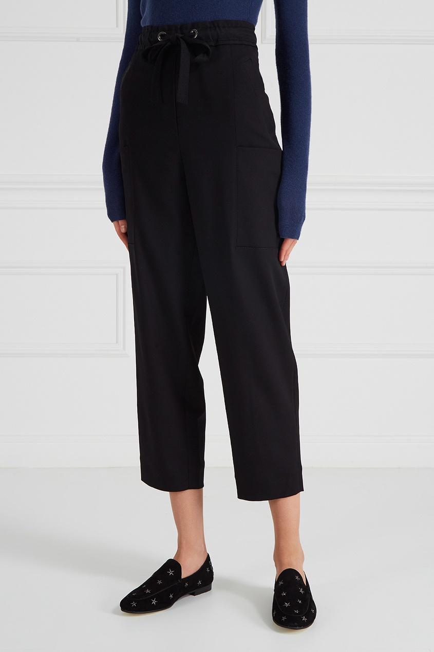 Свободные брюки с карманами