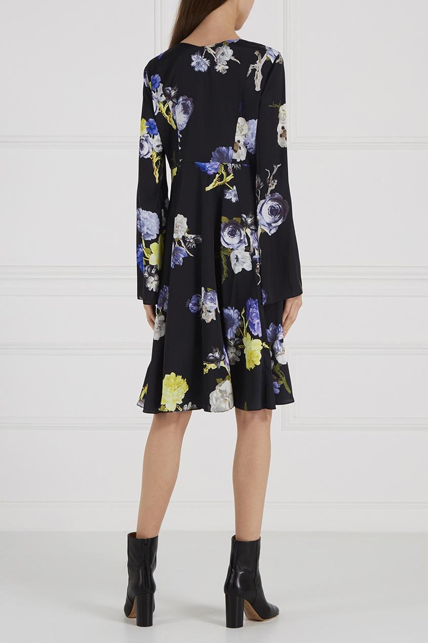 Acne Studios Платье с розами