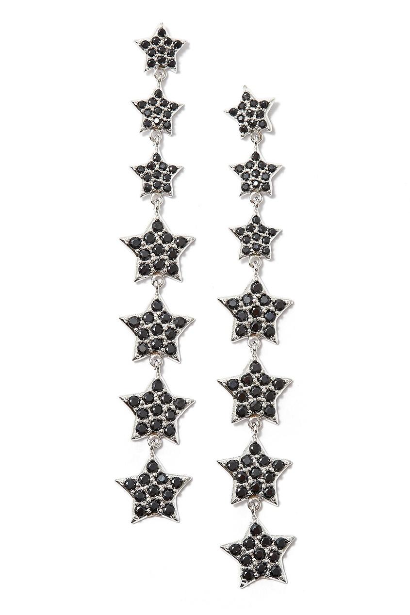 Herald Percy Серьги с маленькими звездами браслеты herald percy браслет цепочка со звездами