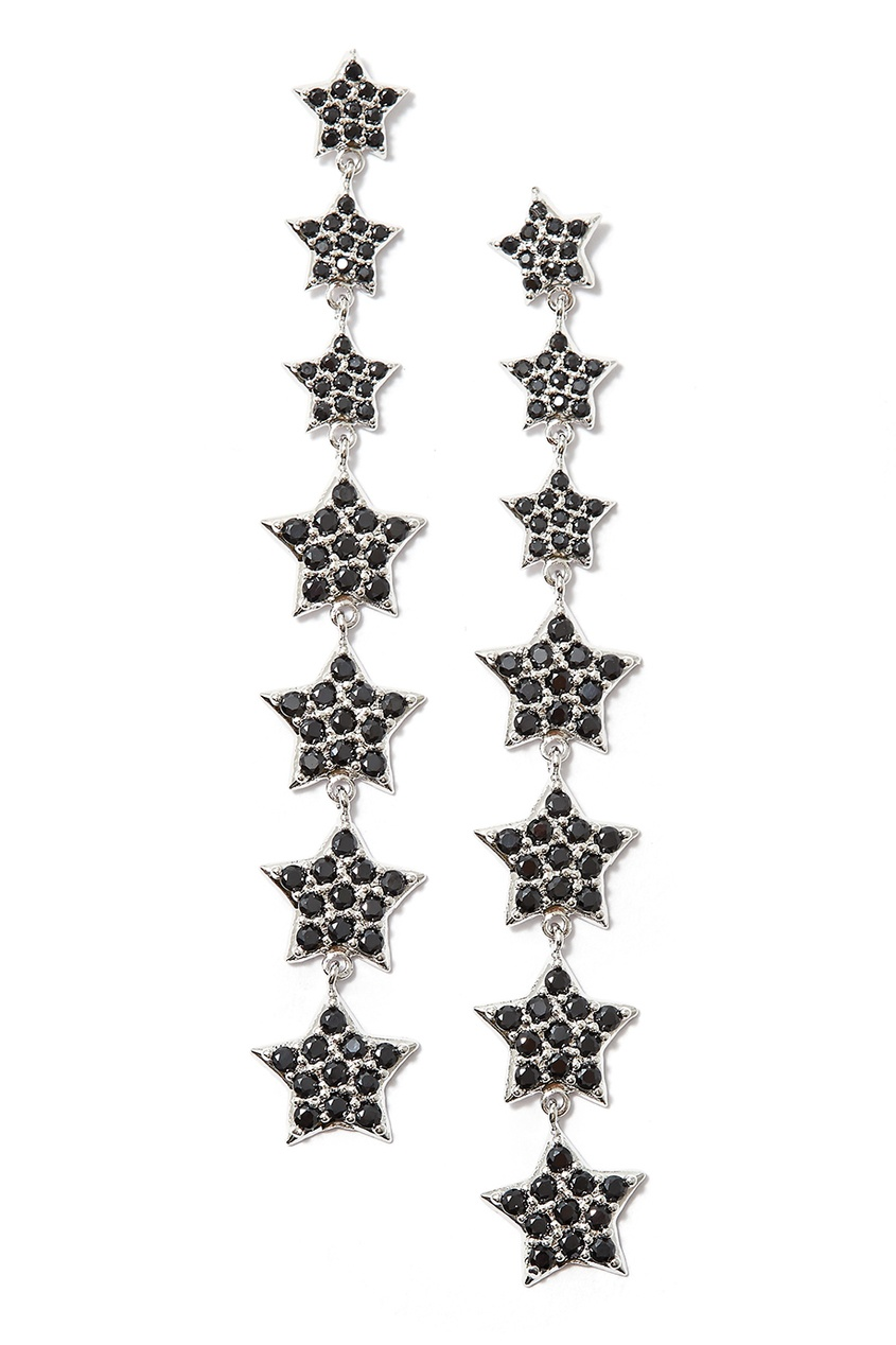 Herald Percy Серьги с маленькими звездами herald percy колье с кристаллами