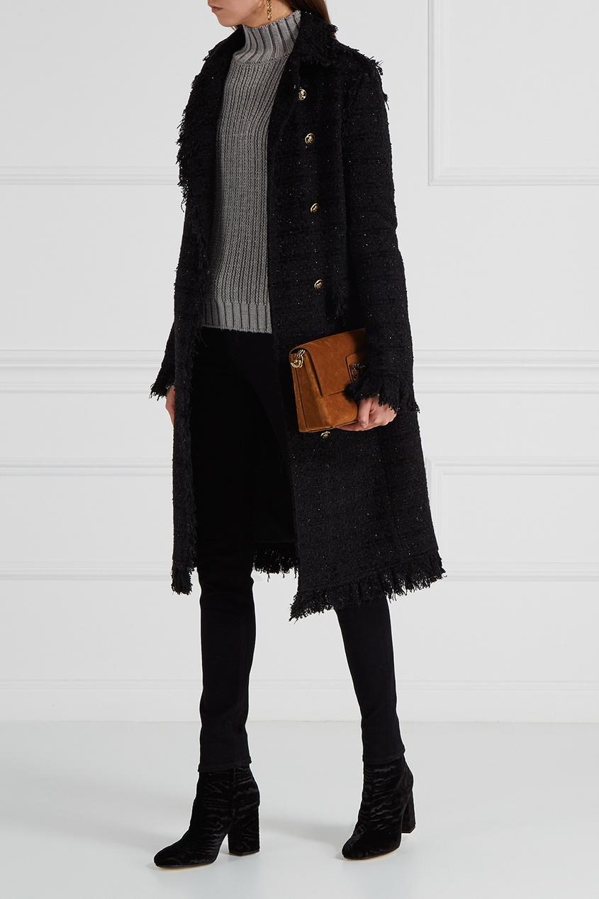Фактурное пальто