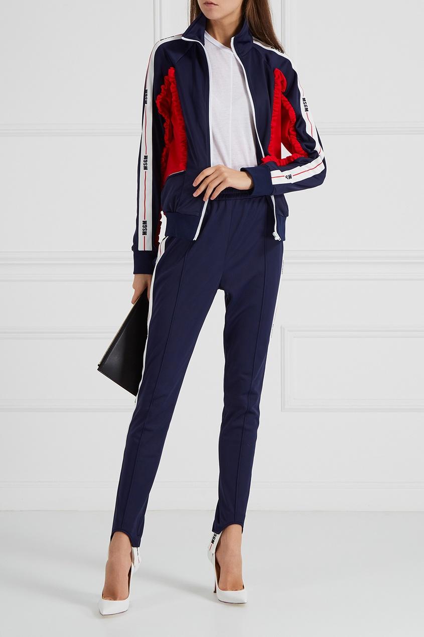 MSGM Куртка с цветной отделкой msgm одежда
