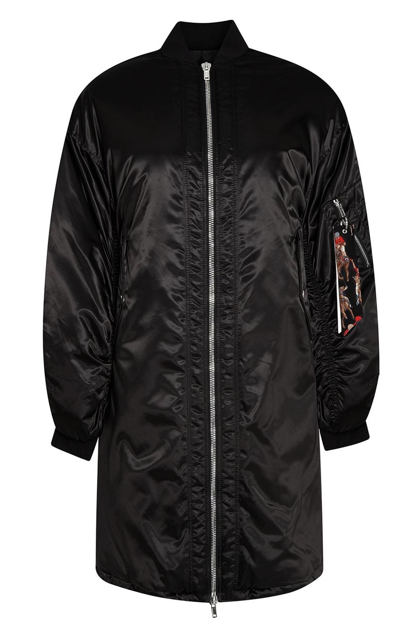 MSGM Куртка на молнии сетка fit 38115