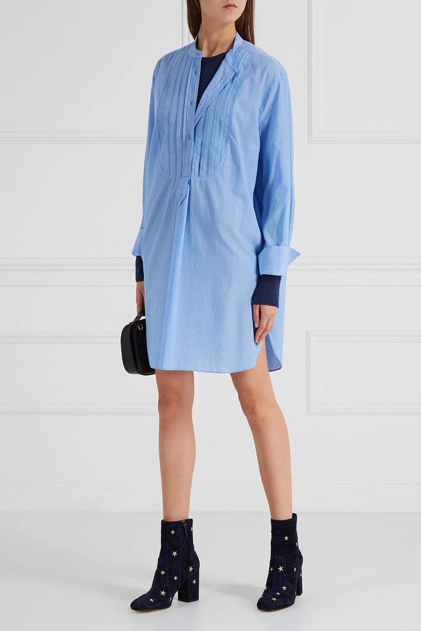Блузка с отделкой