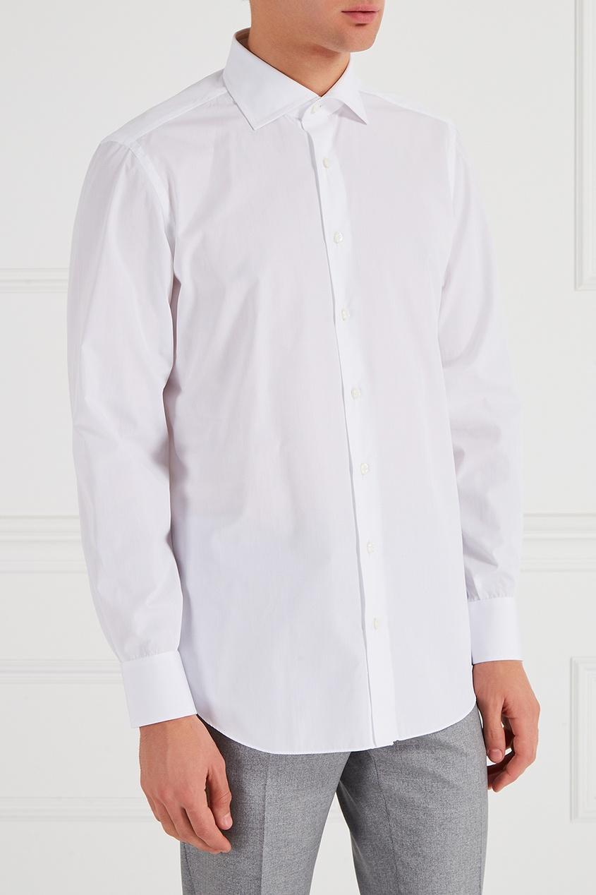 CESARE ATTOLINI Белая хлопковая рубашка осенние новый пиджак обрезанное корейской версии новый осенний износ тонкая белая рубашка леди рукава белая рубашка