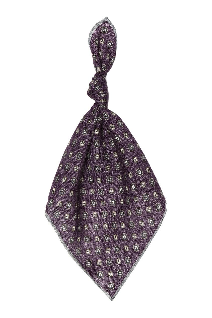 Шерстяной платок с узором