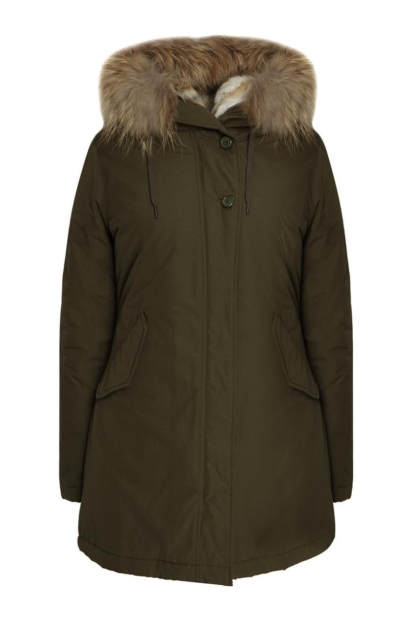 Canadian Зеленая парка Eskimo truespin зеленая парка куртка для сноуборда парка true spin alaska jacket hunter green