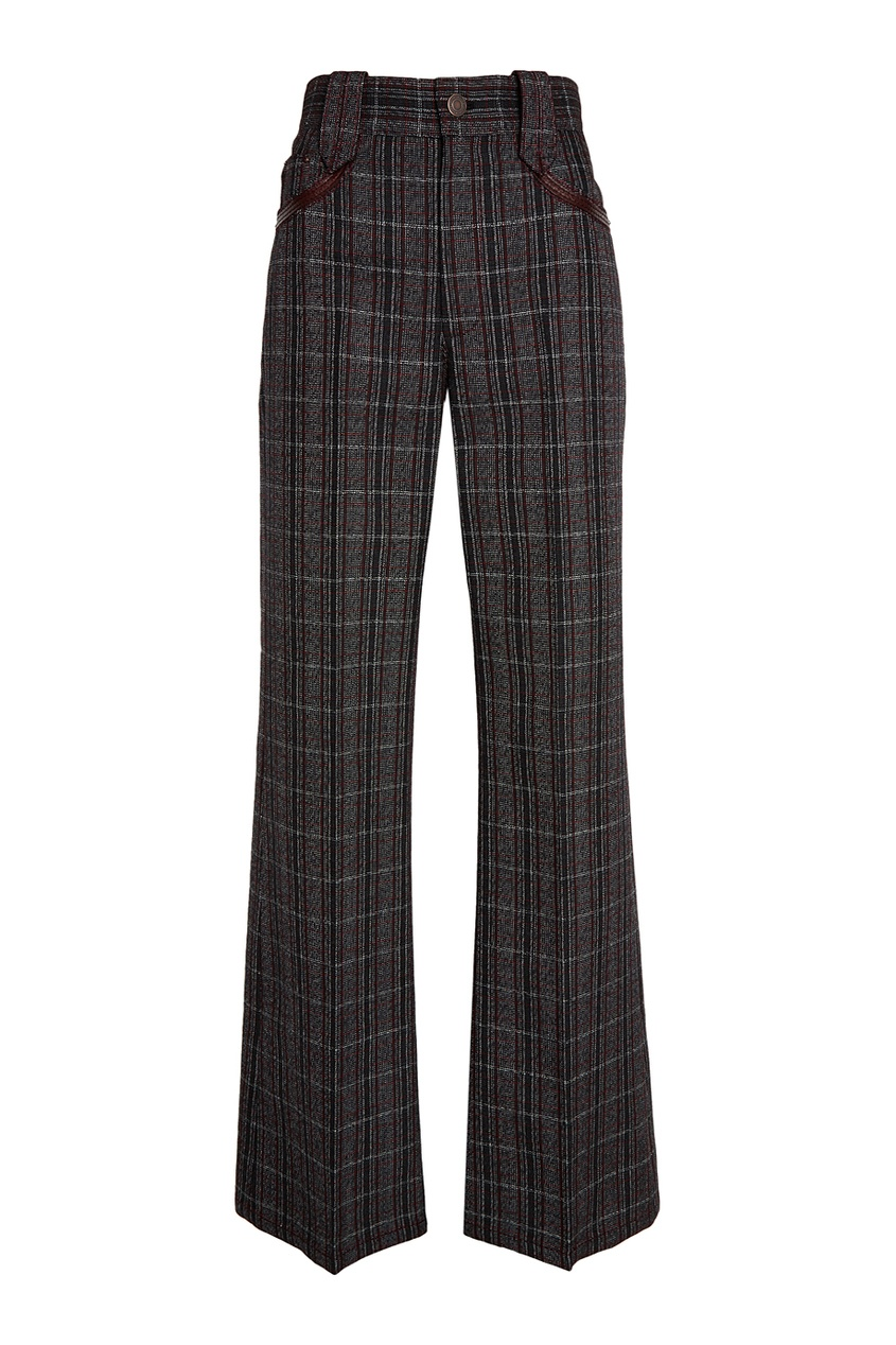 Marc Jacobs Серые шерстяные брюки