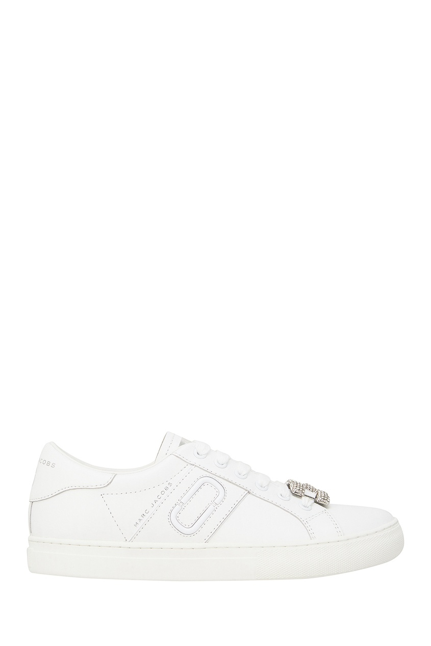 Marc Jacobs Кожаные кроссовки с декором