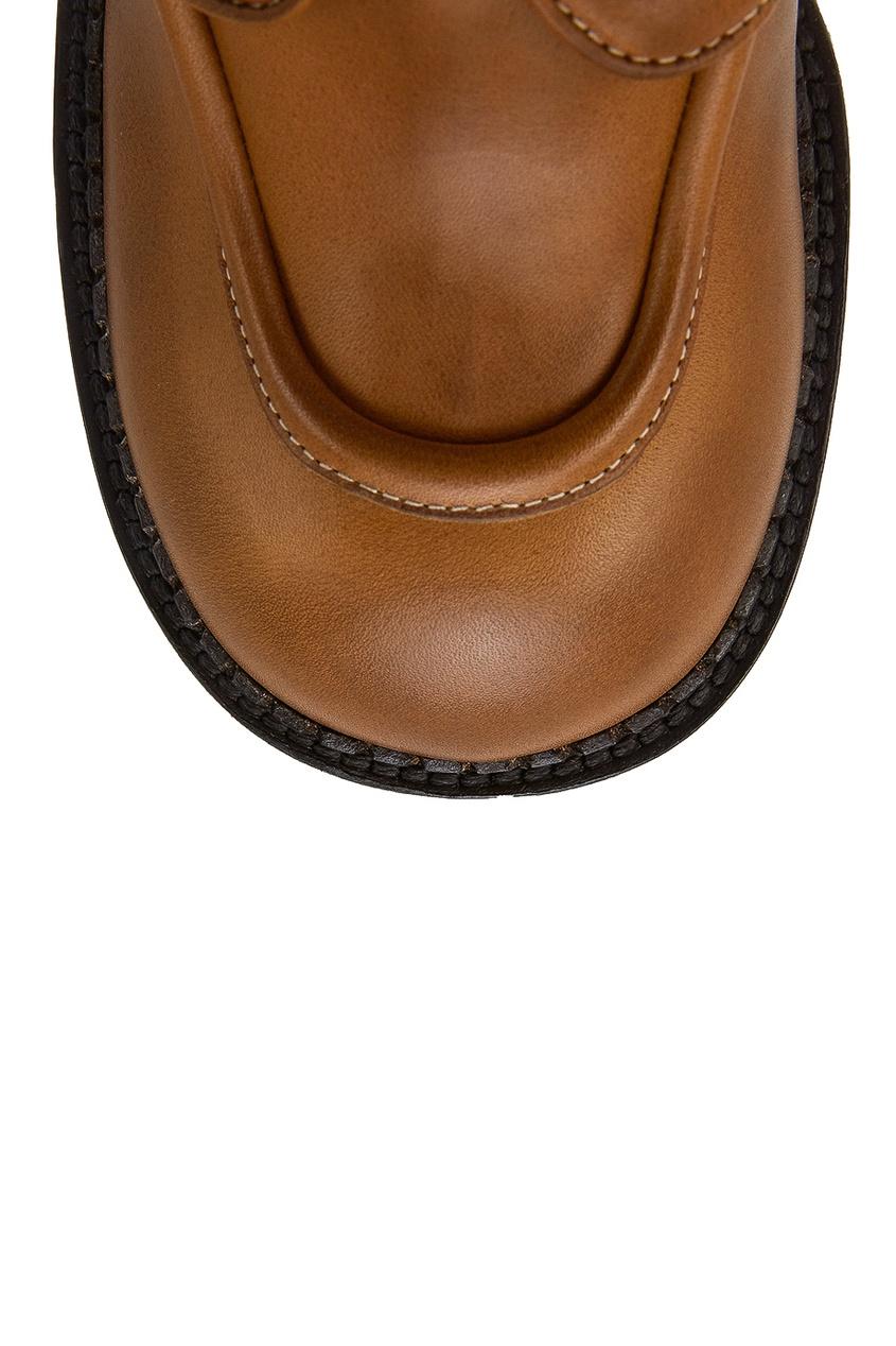 Marc Jacobs Бежевые ботинки на платформе
